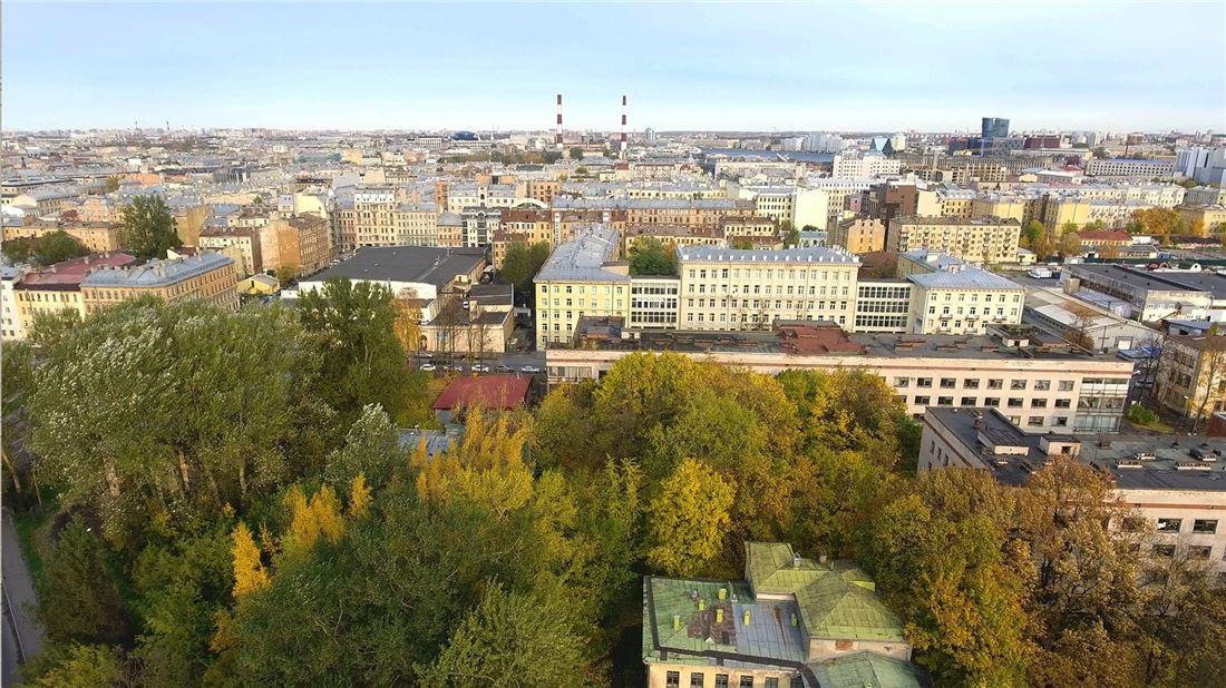 Планировка Трёхкомнатная квартира площадью 105.7 кв.м в ЖК «Николаевский ансамбль»