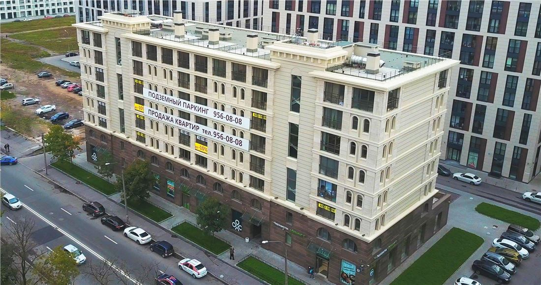 Планировка Двухкомнатная квартира площадью 65.8 кв.м в ЖК «Николаевский ансамбль»