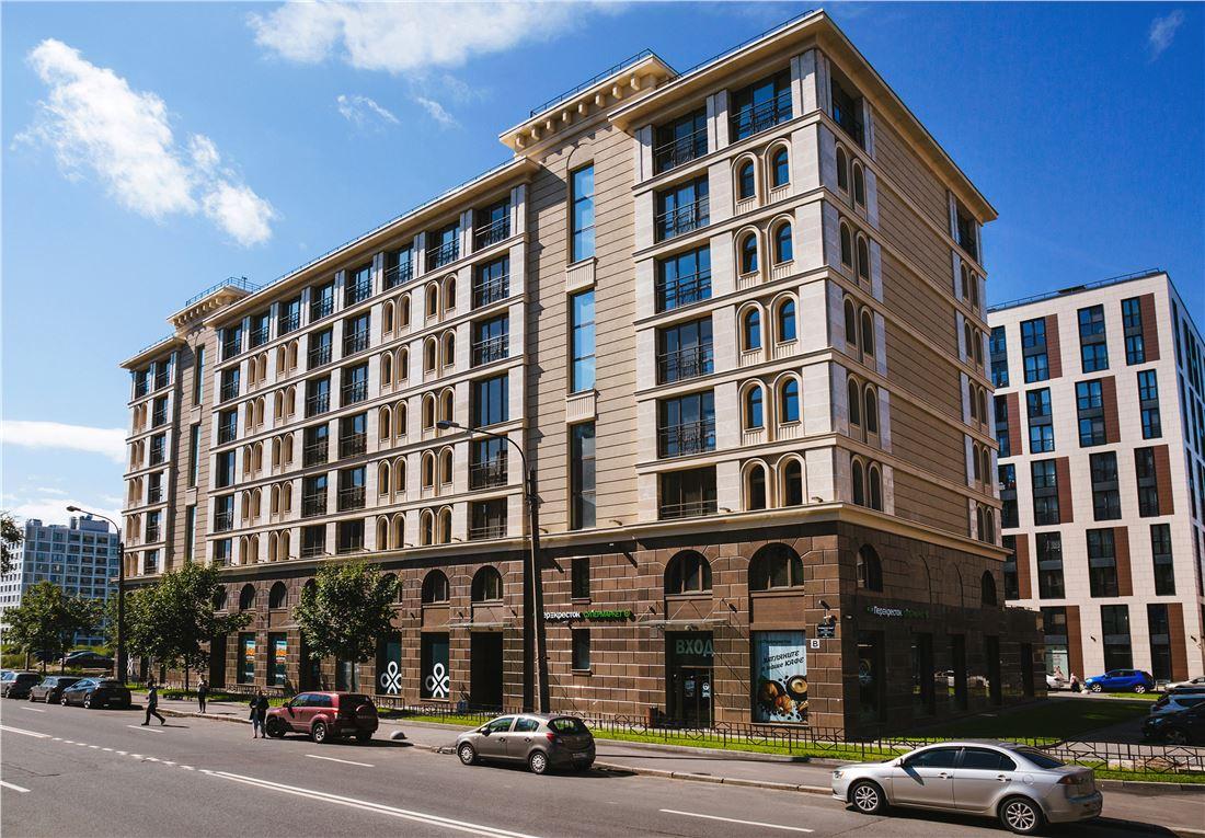 Планировка Трёхкомнатная квартира площадью 94.7 кв.м в ЖК «Николаевский ансамбль»